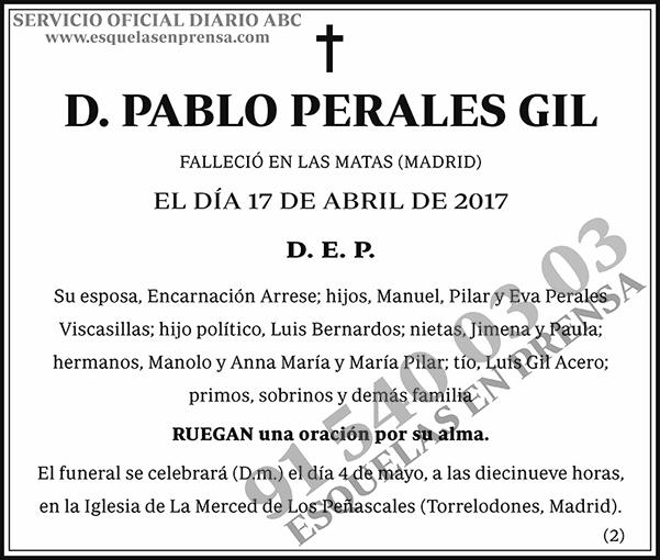 Pablo Perales Gil